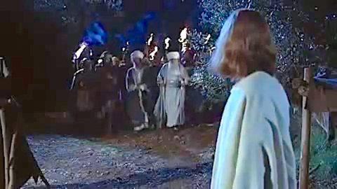 基督教电影 – 犹大背叛耶稣;耶稣被捕